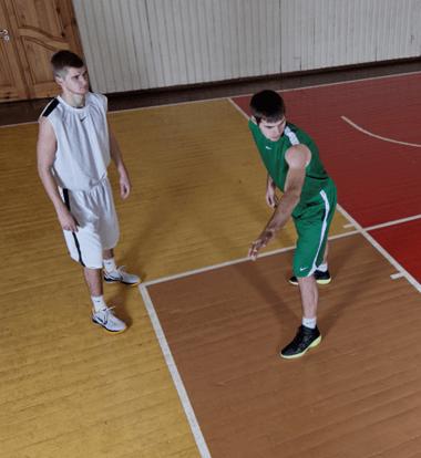 Žaidėjo be kamuolio dengimas - IBUtraining