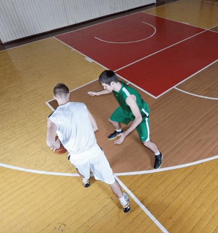 Padėtis, kai puolėjas varo kamuolį - IBUtraining